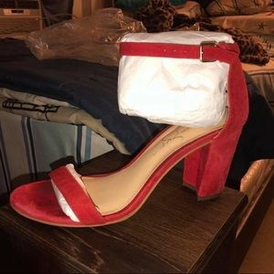 Jessica Simpson Red Shoes
